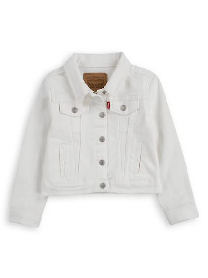 Little Girls 4-6x Denim Trucket Jacket