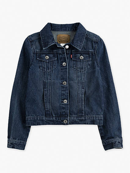 Big Girls 7-16 Trucker Jacket