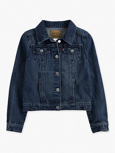 Big Girls (7-16) Trucker Jacket