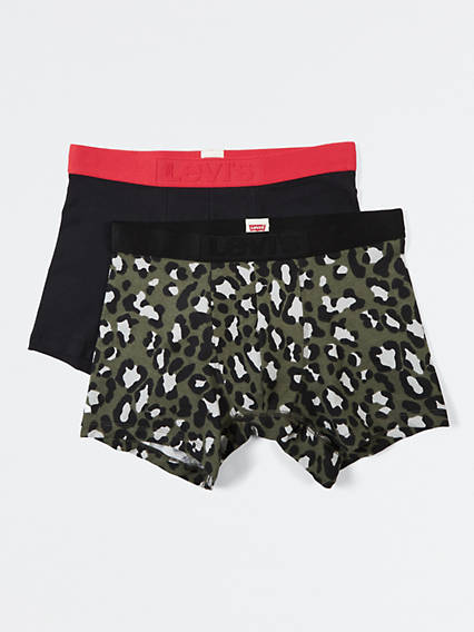 Levi's® Bubble Cheetah Boxer Brief (2 Pack)