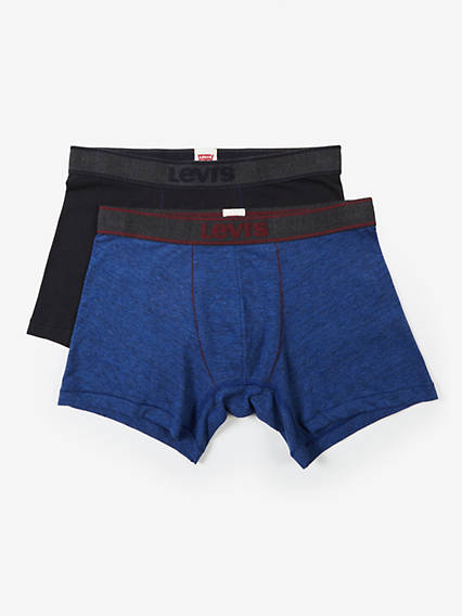 Levi's® Vintage Heather Boxer Brief (2 Pack)