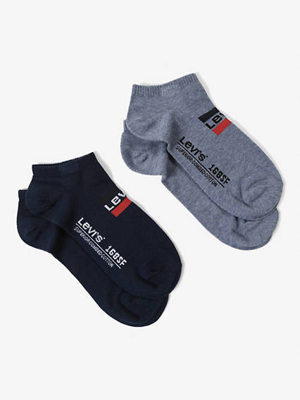 Levi's® Socks- Low Cut Sportswear Logo (2 Pairs)