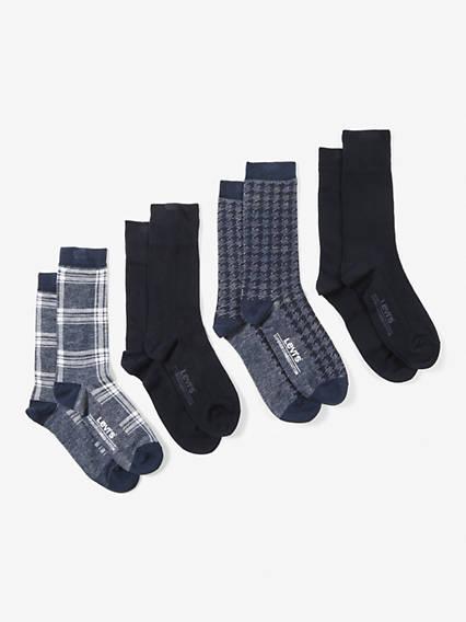 Levi's® Socks- Giftbox Regular Cut (4 Pair)