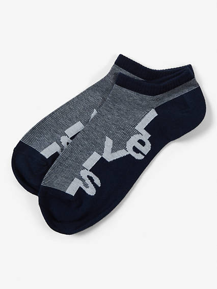 Levi's® Socks- Low Cut Multy Stripe Logo (2 Pair)