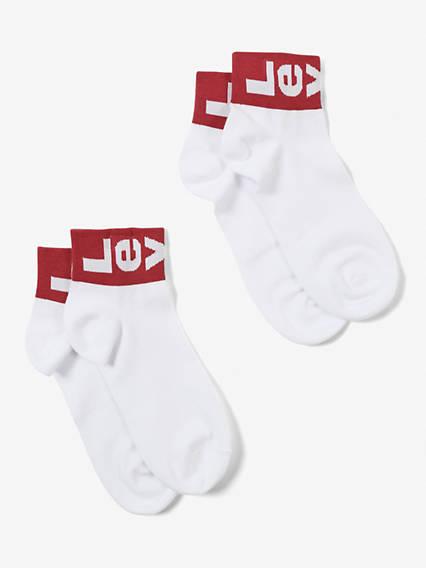 Levi's® Socks- Mid Cut Lazy Tab (2 Pair)