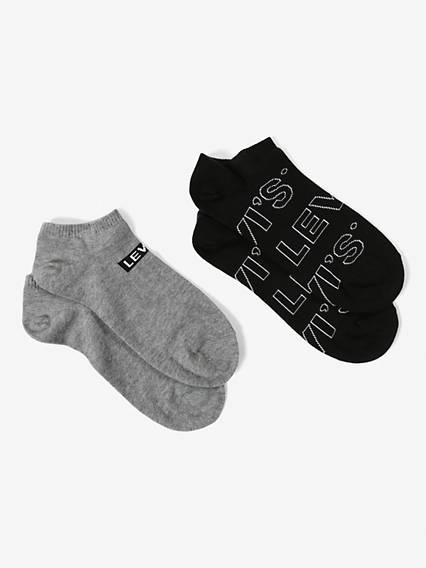 Levi's® Socks- Low Cut Letter Outline (2 Pair)