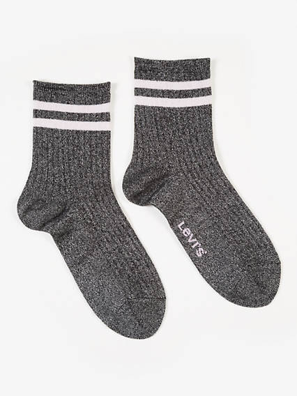 Levi's® Women Lurex Sport Sock 2P
