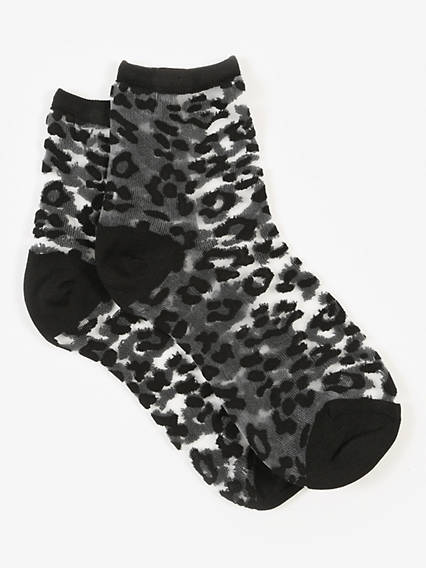 Levi's® Sock- Transparent Leopard (1 Pair)