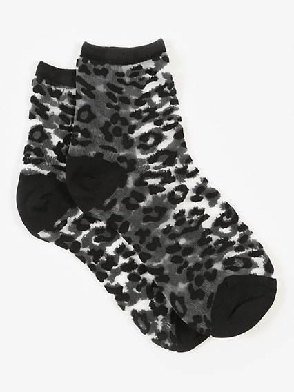 Levi's® Sock- Transparent Leopard (1 Pair)