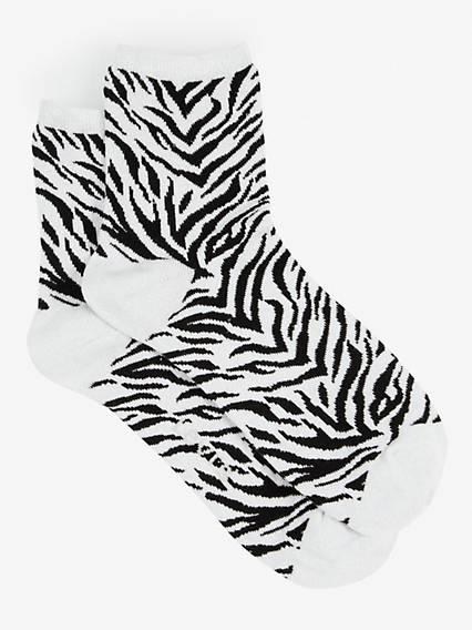 Levi's® Women Short Sock Lurex Zebra 1-Pack