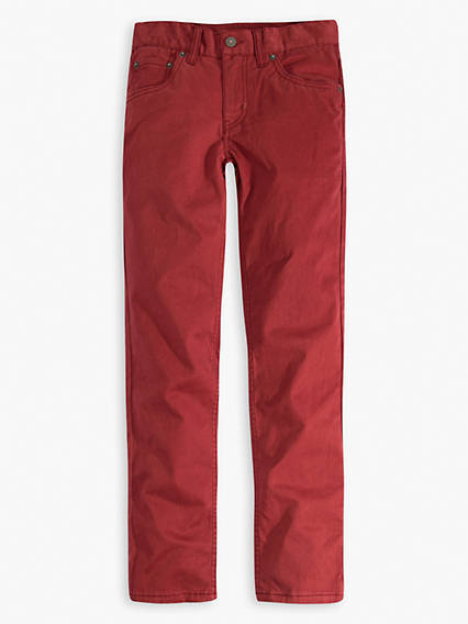 Big Boys 8-20 511™ Slim Fit Sueded Pants