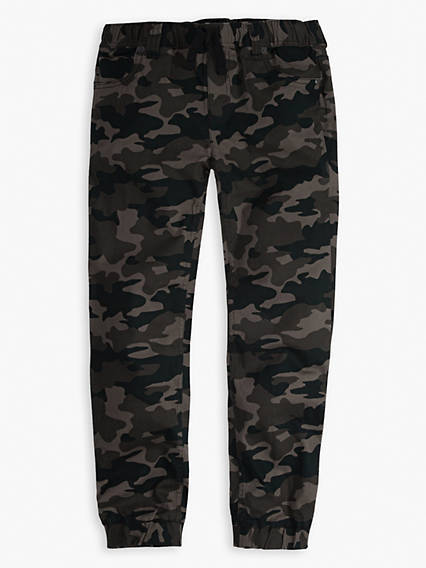 Camo Twill Jogger Big Boys Pants 8-20