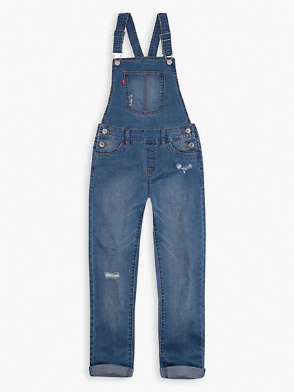 Little Girls 4-6x Girlfriend Overalls