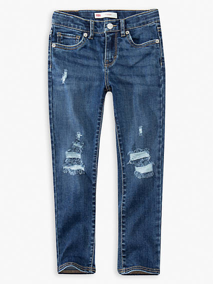 Little Girls 4-6x 711 Skinny Jeans