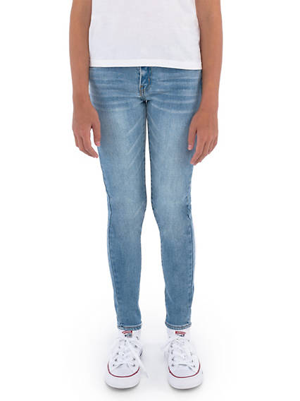 710 Super Skinny Fit Big Girls Jeans 7-16