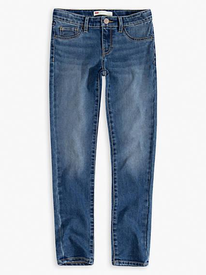 Big Girls 7-16 710 Ankle Super Skinny Jeans