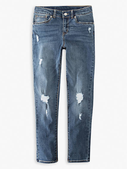 721 High Rise Skinny Big Girls Jeans 7-16