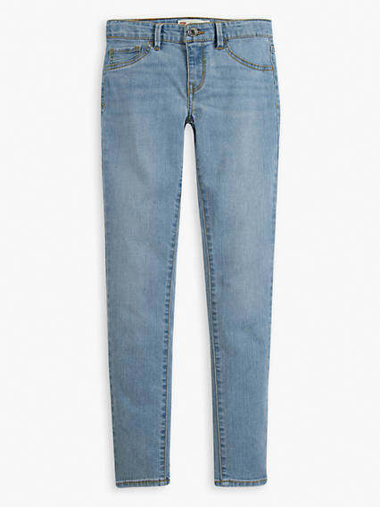 Big Girls 7-16 710 Super Skinny Jeans