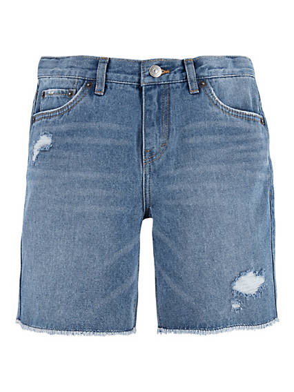 Big Girls 7-16 Girlfriend Midi Shorts