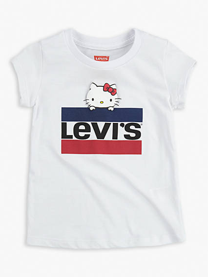 Toddler Girls 2T-4T Levi's® x Hello Kitty Sportswear Logo Tee Shirt