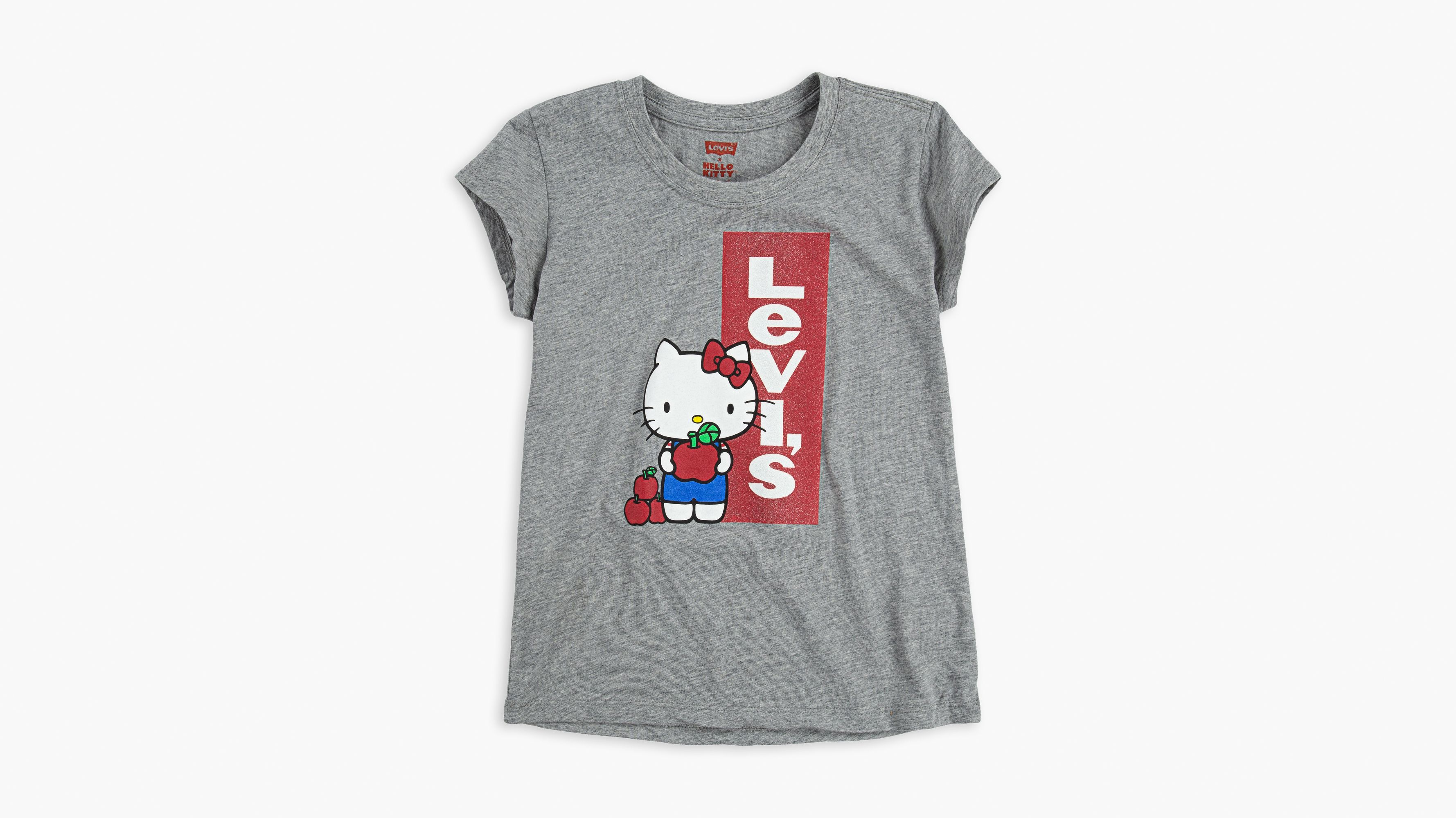 Levi's Hello Kitty Graphic Oversized T Shirt in Black
