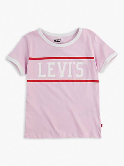 Big Girls 7-16 Levi's® Retro Ringer Tee Shirt