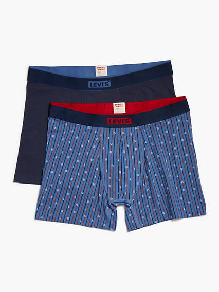 Levi's® 2-Pack Printed Boxer Briefs