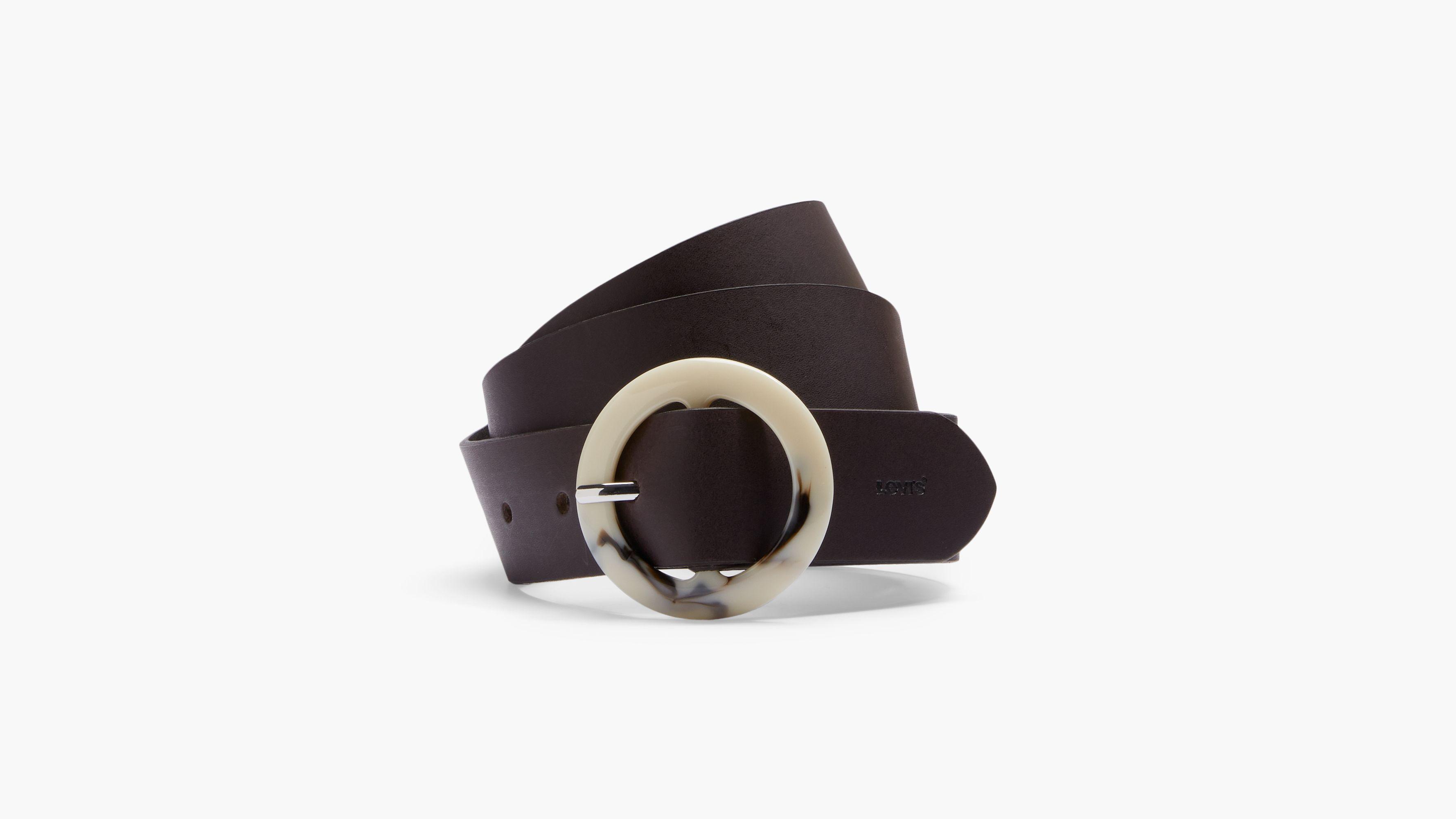 Tortoise Shell Buckle Belt