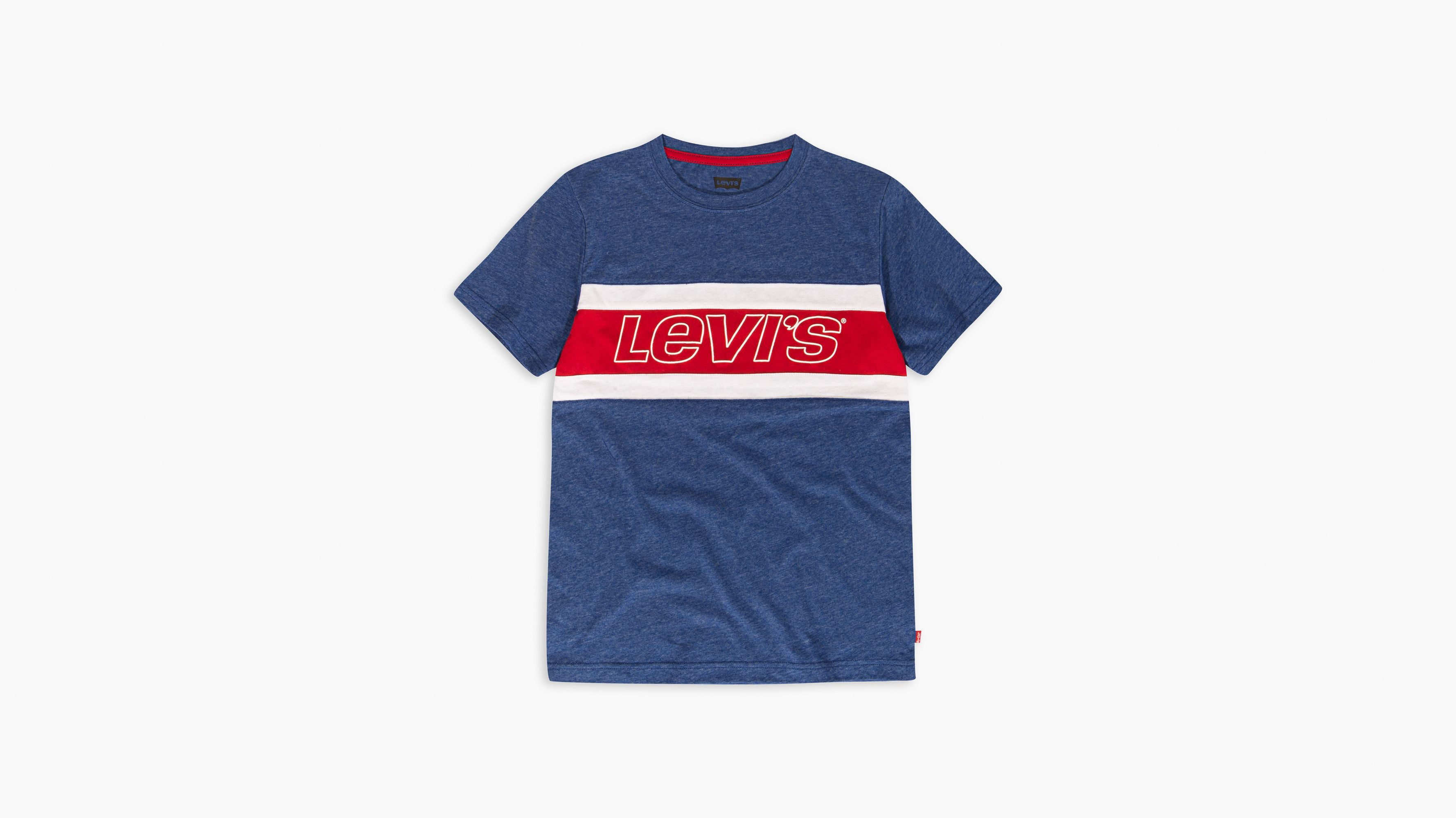 Big Boys Colorblocked Tee Shirt