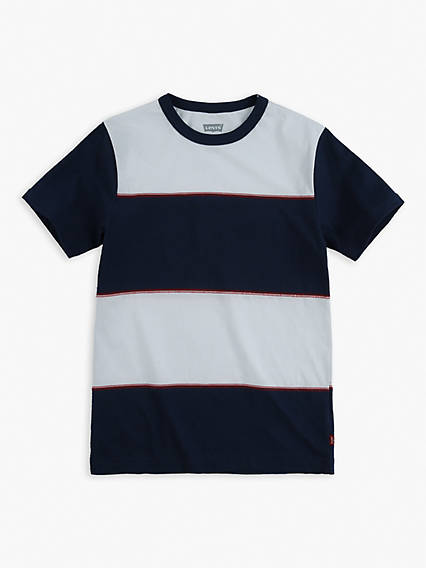 Big Boys S-XL Coverstitch Tee Shirt