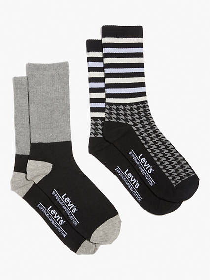 Levi's® Regular Cut Socks (2 Pack)