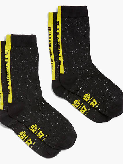 Levi's® x Star Wars Levi's® Regular Cut Socks (2 Pack)