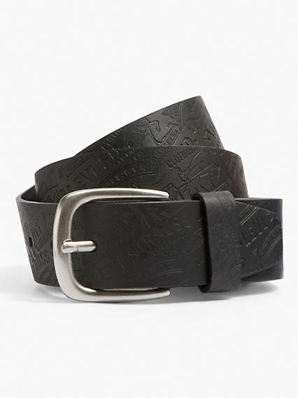 Two Horse Embossed Belt