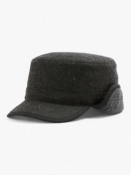 Winter Plaid Trapper Hat
