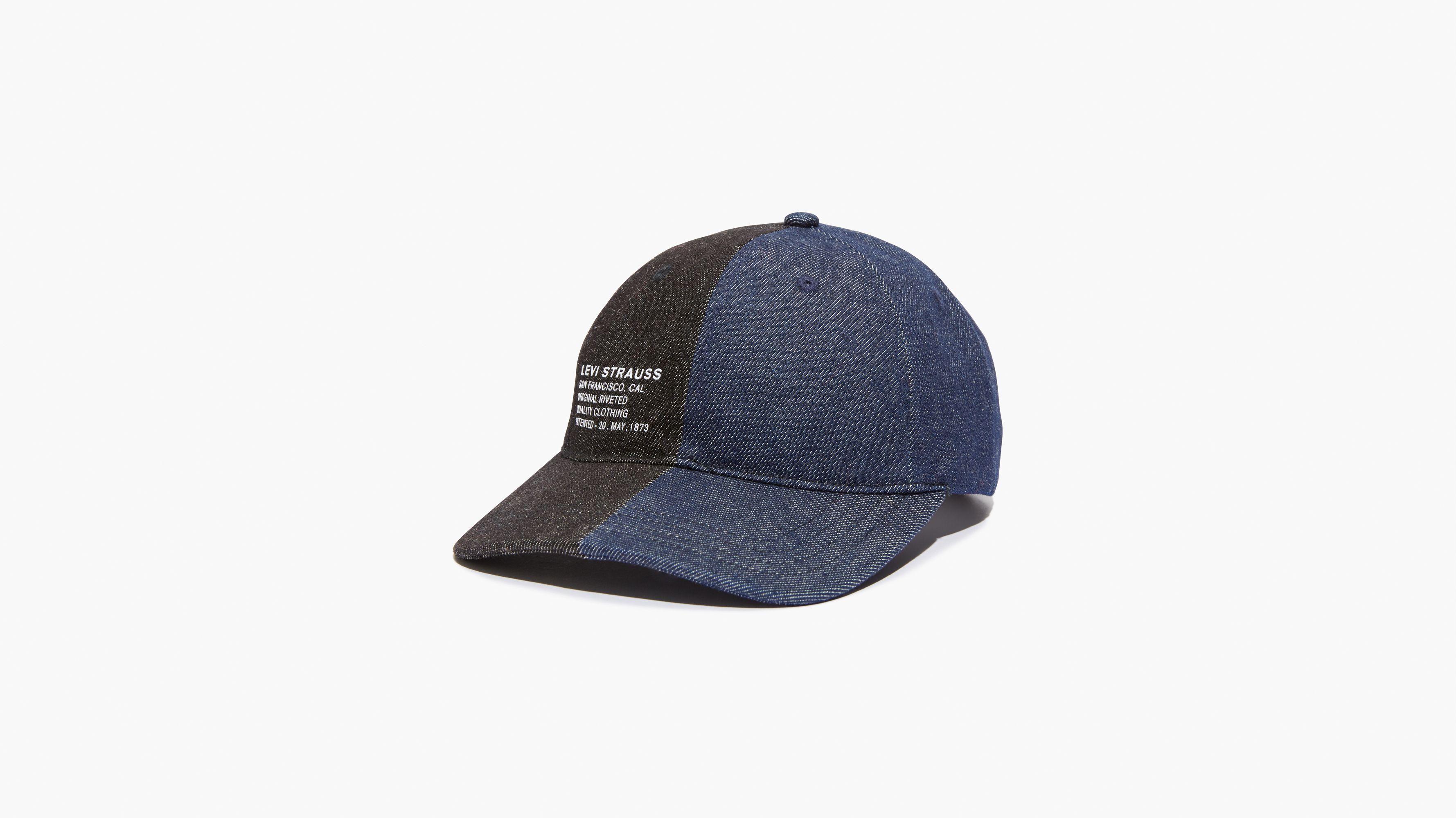 Split Denim Baseball Hat