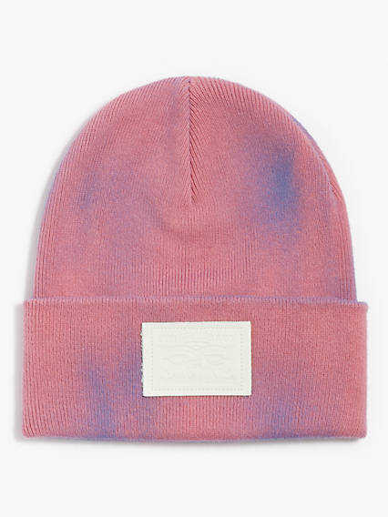 Two Horse Pull Patch Multicolor Beanie