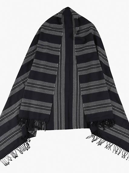 Seasonal Stripe Wrap