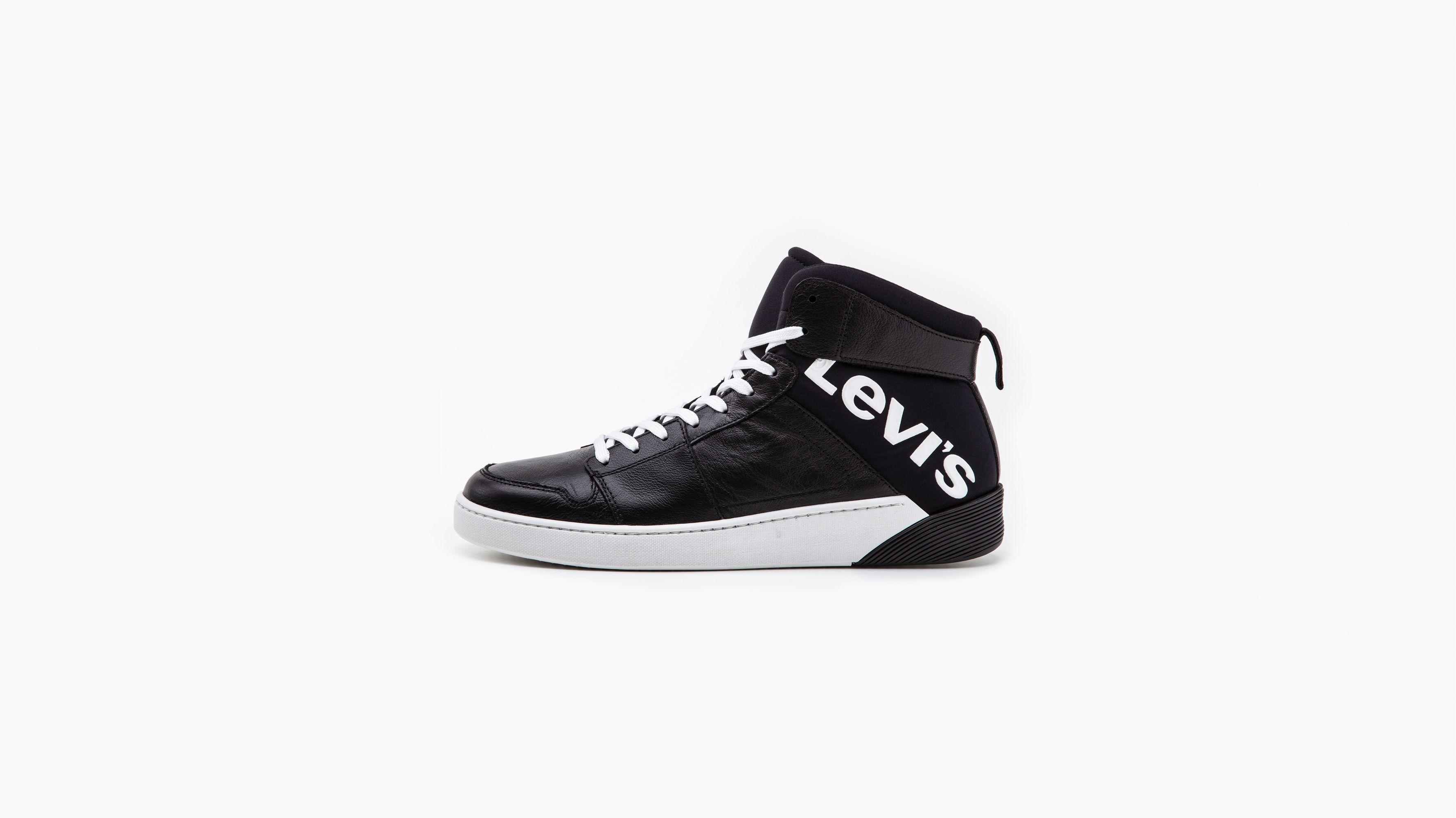 Schwarz Details Socken Jun Sneaker Herren Schuhe Sportliche