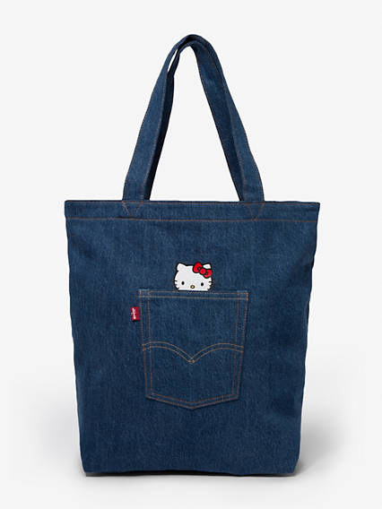 Levi's® x Hello Kitty Denim Pocket Tote Bag