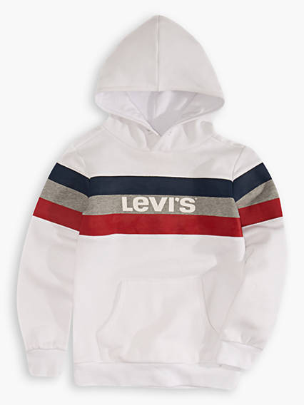 Little Boys 4-7x Colorblock Hoodie