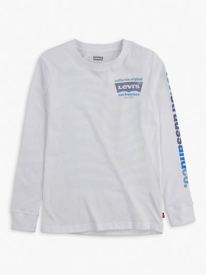 Little Boys 4-7x Long Sleeve Levi's® Wrap Tee