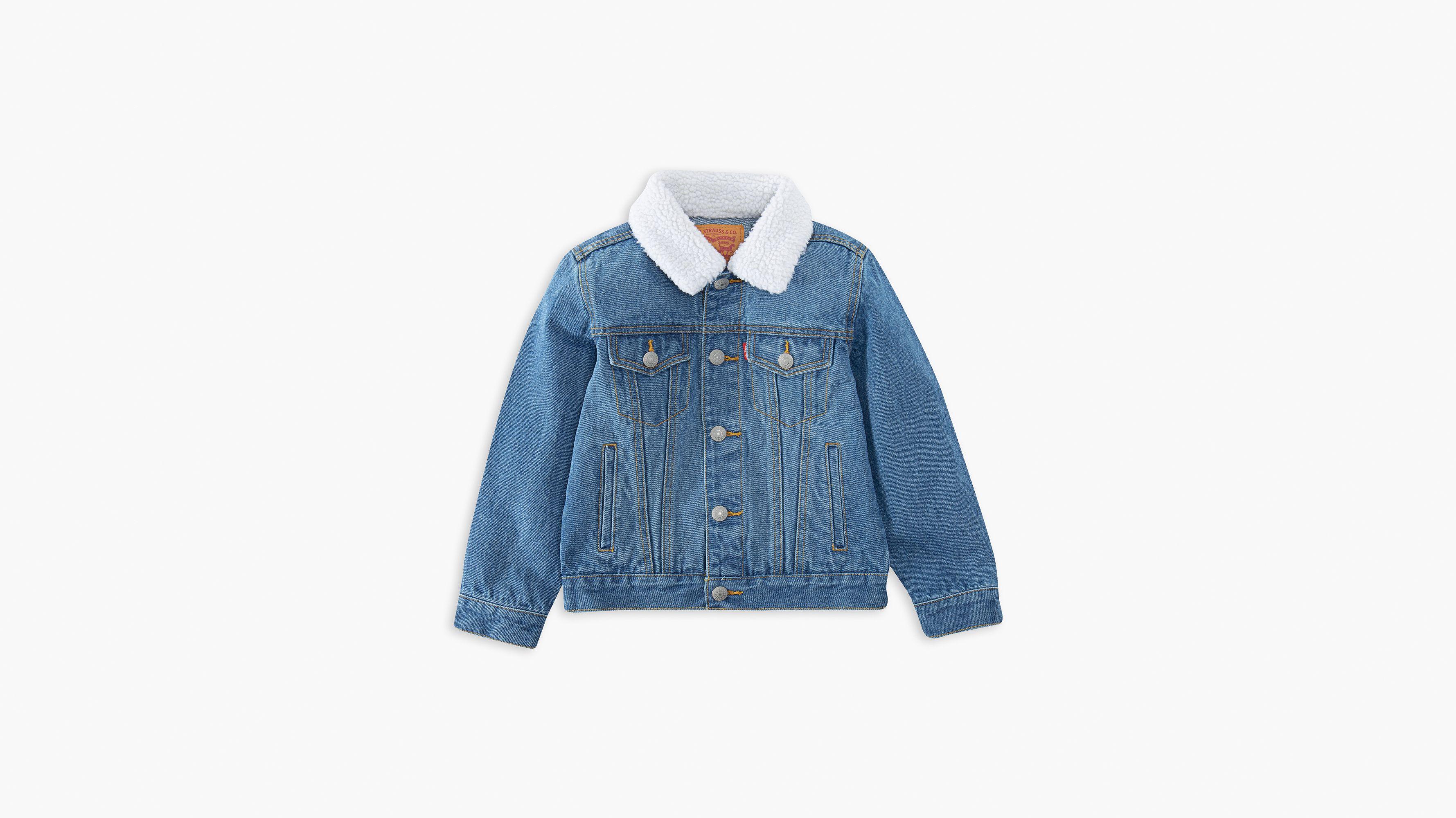 Little Boys 4-7x Sherpa Trucker Jacket