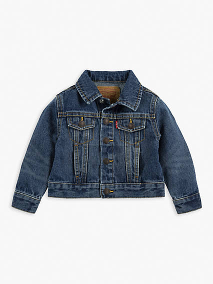 Baby Boys Denim Trucker Jacket