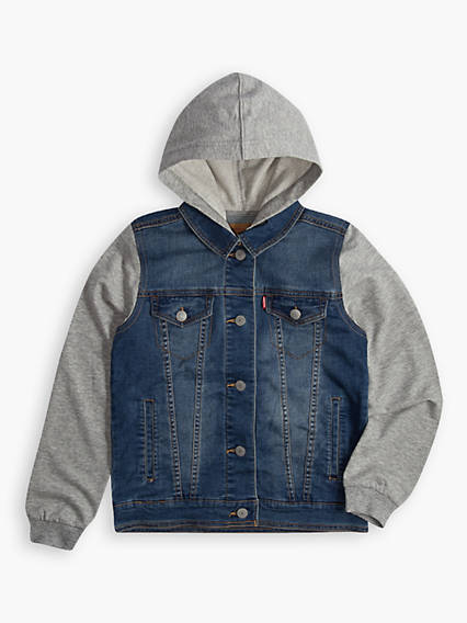 Big Boys Hybrid Trucker Jacket