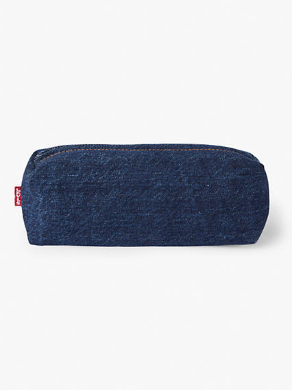 Small Pencil Case in Denim