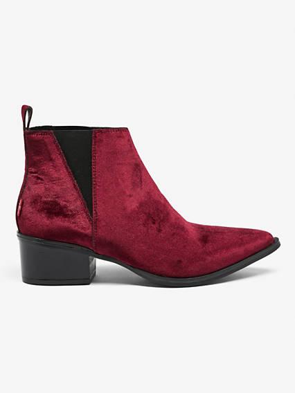 Gaia Velvet Shoes
