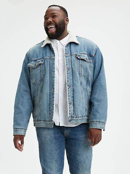 Sherpa Trucker Jacket (Big)