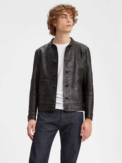 Levi's® Vintage Clothing Menlo Cossack Einstein Leather Jacket
