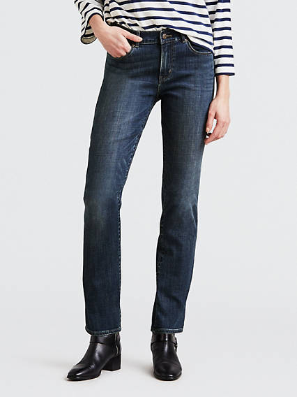 Classic Straight Fit Women's Jeans