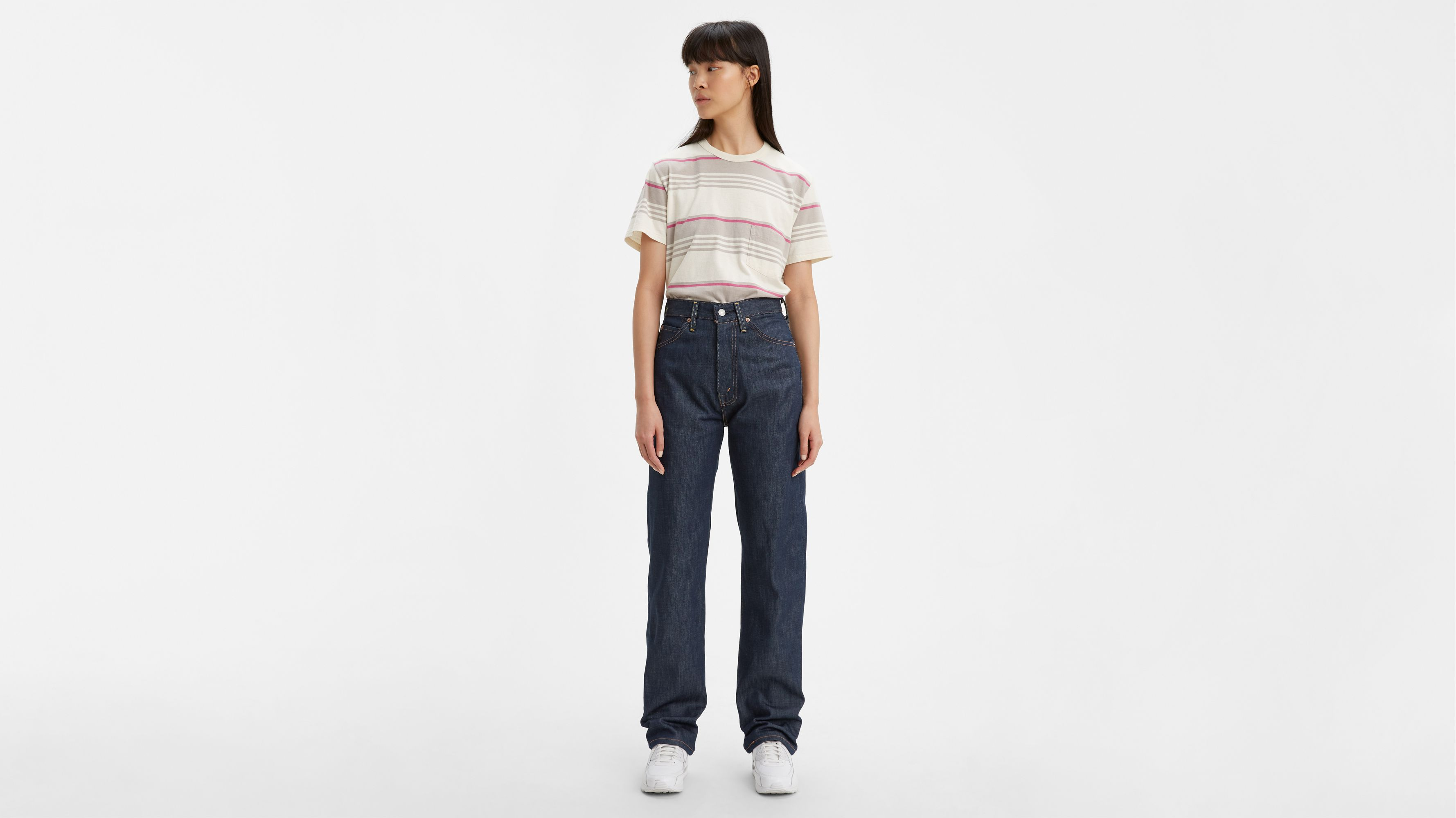1950s cut levi jeans women